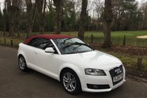 Audi A3 Cabriolet 1.8 TFSI AUTOMATIC, FULL SERVICE HISTORY, TWO LADY OWNERS