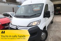Citroen Relay 35 L3H2 ENTERPRISE BLUEHDI ONLY 66,000 NICE EXAMPLE PLY LINED PX WELCOME WARRANTY INCLUDED NO VAT