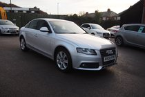 Audi A4 SE 2.0TDI 143PS FULL SERVICE HISTORY ! SAT NAV ! 99% FINANCE APPROVAL !