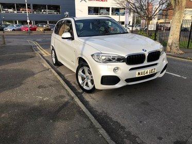 BMW X5 XDRIVE30d M SPORT.2 Keys+SatNAv+Leather+Cruise