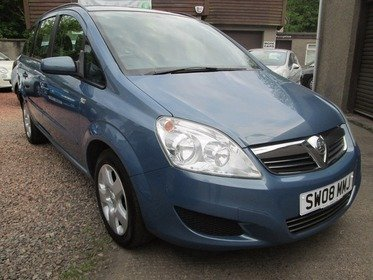 Vauxhall Zafira 1.6I 16V EXCLUSIV - ONLY 55511 MILES, MOT 15/03/2018, SERVICED, 3 MONTHS WARRANTY AND 12 MONTHS AA COVER INCLUDED