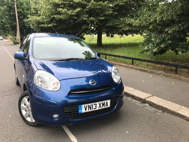 Nissan Micra ACENTA AUTOMATIC+SAT NAV+LOW MILEAGE