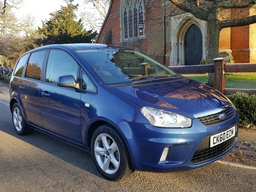 Ford C-Max 1.6I ZETEC 100PS / FULL SERVICE HISTORY/ SPACIOUS MPV, WITH JUST 23.000 MILES !