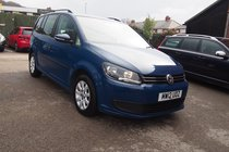 Volkswagen Touran S 1.6 TDI 105PS SERVICE HISTORY ! 99% FINANCE APPROVAL ! 7 SEATS !