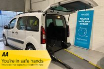 Citroen Berlingo HDI XTR Wheelchair Ramp