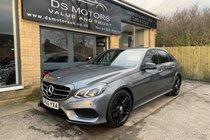 Mercedes E Class E220 BLUETEC AMG NIGHT EDITION