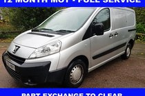 Peugeot Expert 12 MONTH MOT-FULL SERVICE- PART EXCHANGE TO CLEAR###NO VAT TO PAY###