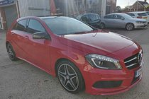 Mercedes A Class A250 AMG SPORT 4MATIC 5 MERCEDES BENZ MAIN DEALER SERVICE STAMPS