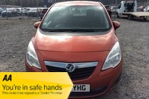 Vauxhall Meriva EXCLUSIV CDTI. Practical - Economical - Diesel - AUTOMATIC
