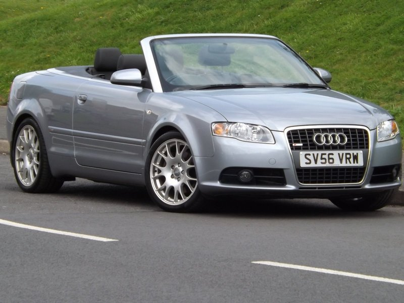 Audi A Cabriolet T FSI S LINE East Midlands Motor Sales - Audi a4 convertible