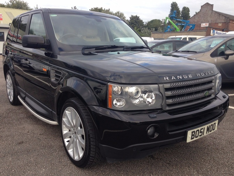 land rover range rover sport 2 7 tdv6 hse 1 owner low mileage fsh px finance welcome. Black Bedroom Furniture Sets. Home Design Ideas