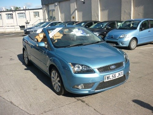Ford Focus 2.0 CC-3 Convertible Finance Available