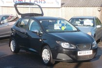 SEAT Ibiza 1.2 12v 70PS S A/C 81,000 MILES LOW INSURANCE GROUP