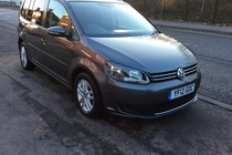 Volkswagen Touran SE TDI 1.6  BUY NO DEP & £45 A WEEK T&C SEVEN SEATER MPV