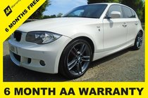 BMW 1 SERIES 116i PERFORMANCE EDITION 6 MONTH AA WARRANTY-12 MONTH MOT-FULL SERVICE-12 MONTH AA BREAKDOWN COVER