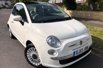 Fiat 500 1.2 LOUNGE-S/S-£30 TAX-SERVICED-SUPERB-ULEZ
