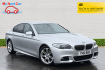 BMW 5 SERIES 520d M SPORT SATNAV HEATED LEATHER