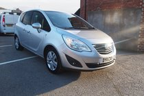 Vauxhall Meriva SE 1.4i 16v VVT (100PS) (a/c) PANROOF ! GR8 SPEC ! 99% FINANCE APPROVAL !