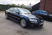 Audi A8 TDI QUATTRO DPF SE FULL SERVICE HISTORY ! GR8 SPEC ! BOSE ! HTD LEATHER ! 99% FINANCE APPROVAL !