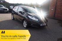 Ford Fiesta ZETEC TDCI SERVICE HISTORY ! 42,899 MILES !  BLUETOOTH/MEDIA PLAYER ! ZERO TAX ! 12 MONTHS MOT !