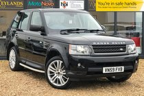 Land Rover Range Rover Sport TDV6 HSE  ONLY 46,419 MILES 2 OWNER CAR + NEW CAMBELT + NEW SERVICE + SATNAV + FRIDGE + HEATED FRONT AND REAR SEATS