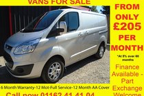 Ford Transit 290 LIMITED LR P/V 6 MONTH WARRANTY-12 MONTH MOT-12 MONTH AA COVER-12 MONTH FULL SERVICE