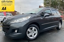 Peugeot 207 HDI SW MILLESIM used car in grey