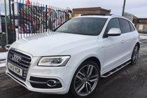 Audi SQ5 3.0 BiTDI QUATTRO 2013 WHITE **LOW 46,044 MILES **PAN ROOF **B&O **21