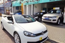 Volkswagen Golf SE TDI BLUEMOTION TECHNOLOGY CABRIOLET, STUNNING EXAMPLE
