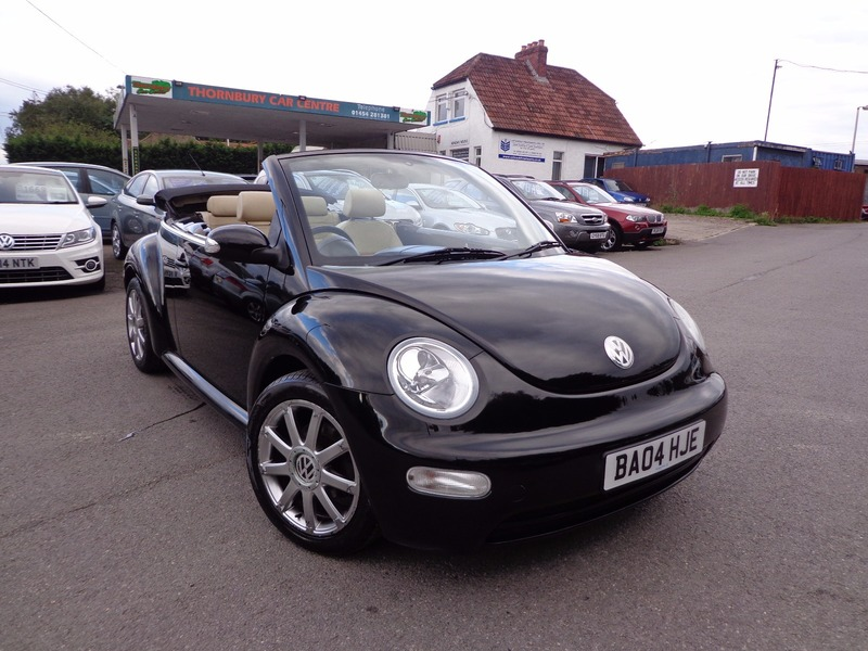 volkswagen beetle 1 6 cabriolet thornbury car centre. Black Bedroom Furniture Sets. Home Design Ideas