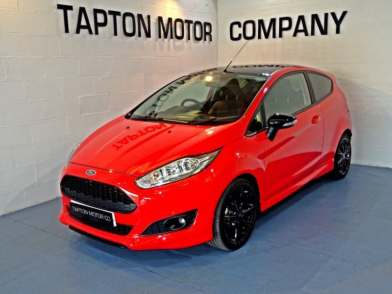 ford fiesta 1 0t ecoboost zetec s red edition 140ps tapton motor company. Black Bedroom Furniture Sets. Home Design Ideas