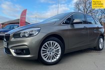 BMW 2 SERIES 218d LUXURY ACTIVE TOURER AUTO used car in Platinum Silver
