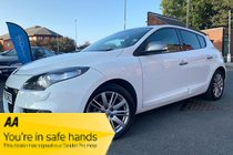 Renault Megane GT LINE TOMTOM ENERGY DCI S/S used car in White