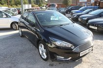 Ford Focus TITANIUM TDCI - Stunning One Owner - FSH - Fantastic MPG 74+ £0 Road Tax!! Manufacturers Warranty until 31/12/2019
