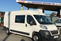 Citroen Relay CREW CAB VAN 9 SEATER