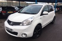 Nissan Note 1.6 16v n-tec + automatic