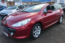 Peugeot 307 2.0 16V S 138bhp Coupe Cabriolet