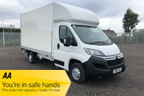 Citroen Relay 35 L3 BLUEHDI Luton.