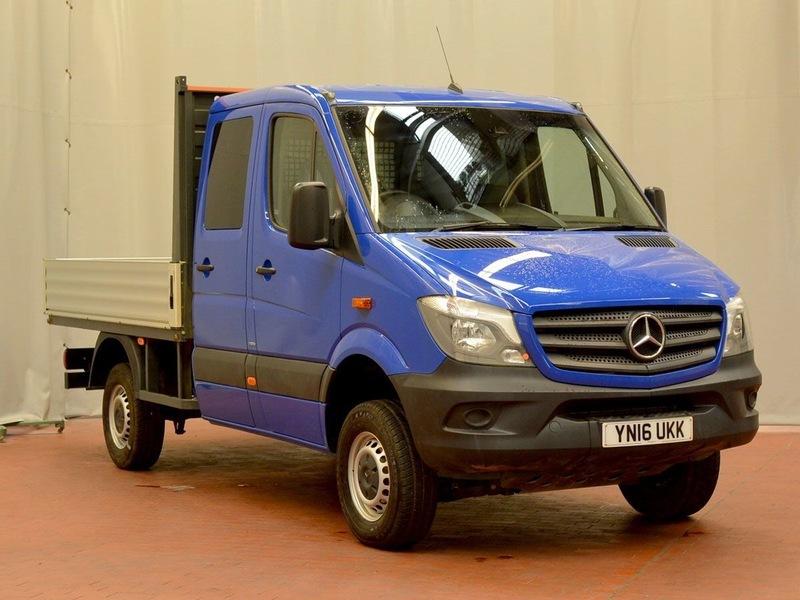 mercedes sprinter 316 cdi lwb dcb 4x4 | nationwide vehicle sales