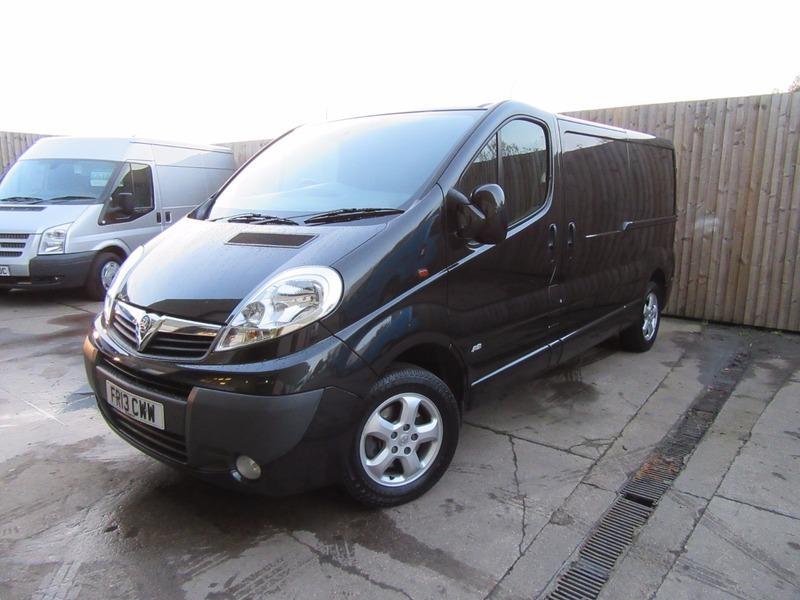 620ba3ff80 Vauxhall Vivaro. Vauxhall Vivaro. Vauxhall Vivaro 2900 CDTI SPORTIVE LWB  METALLIC BLACK ONLY 25