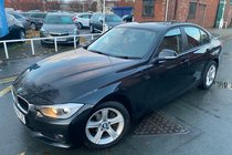 BMW 3 SERIES 316d SE used car in black