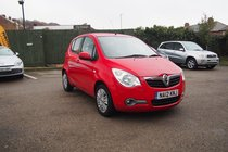 Vauxhall Agila S ECOFLEX LOW MILES ! SERVICE HISTORY ! £20 YEAR TAX ! 99% FINANCE APPROVAL !