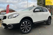 Nissan Qashqai N-TEC PLUS used car in white