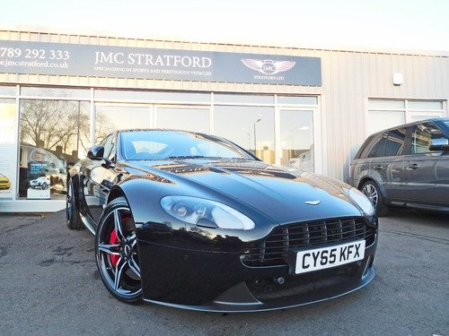 Aston Martin Vantage 4.7 2016 MODEL YEAR LOW RATE FINANCE AT 6.9% APR Representative