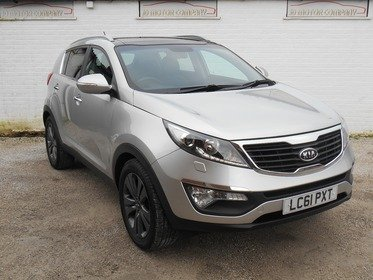 Kia Sportage 1.7 CRDi 3 2WD 5dr GREAT CONDITION , 1 YEARS MOT