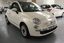 Fiat 500 LOUNGE ONLY 33500 MILES!!