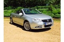 Volkswagen Eos 2.0 TDI SPORT Manaul Silver Clean Example Warranted low Miles