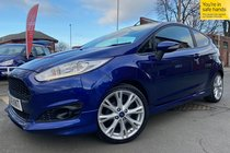 Ford Fiesta ZETEC S used car in Metallic Imperial Blue
