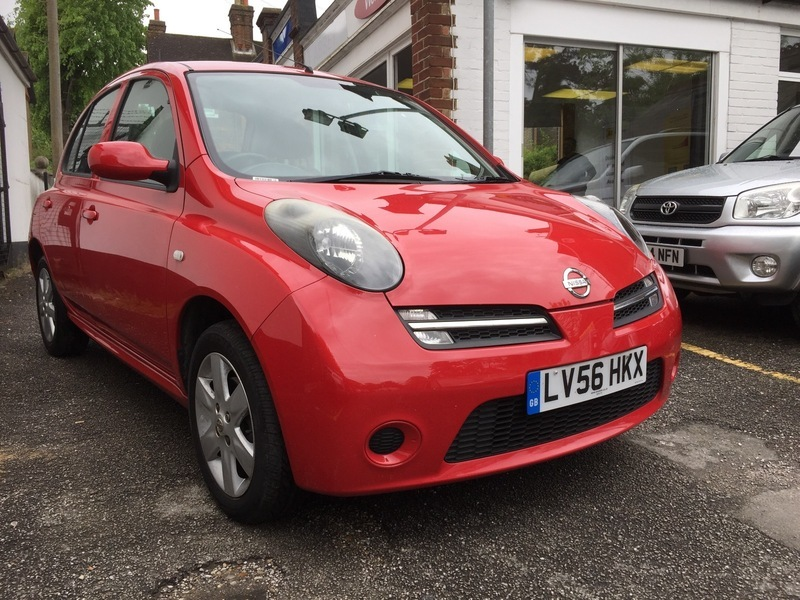 Reigate autos nissan micra 1 2 activ red - Nissan uk head office telephone number ...