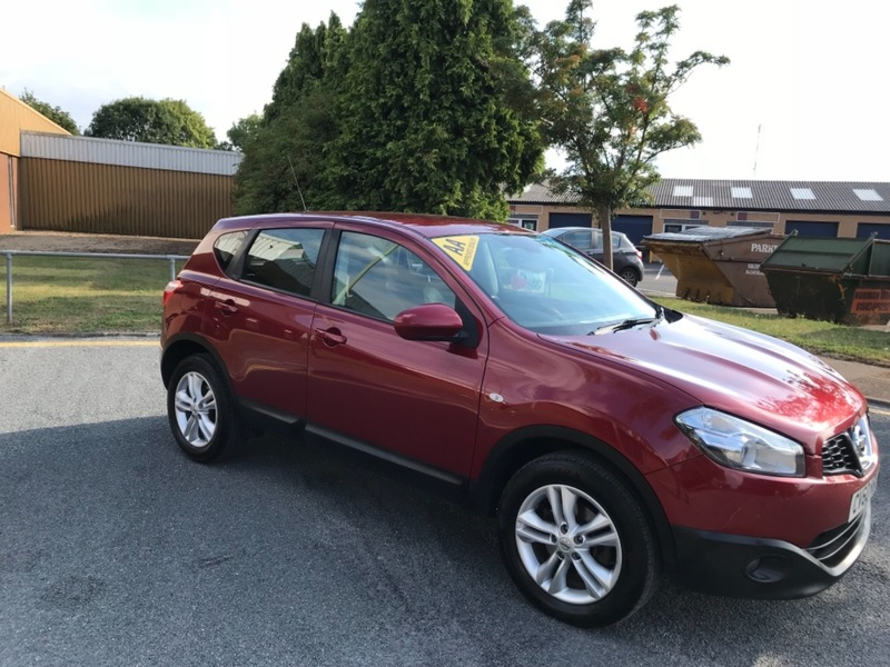 Nissan Qashqai Dci Acenta Norwich Budget Car Sales Limited